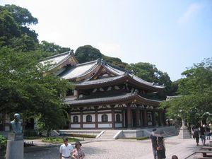 Kannon dou hall - Hasadera Temple