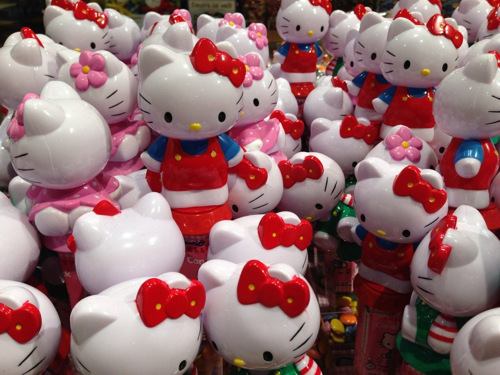 things to do in tokyo with kids: hello kitty land