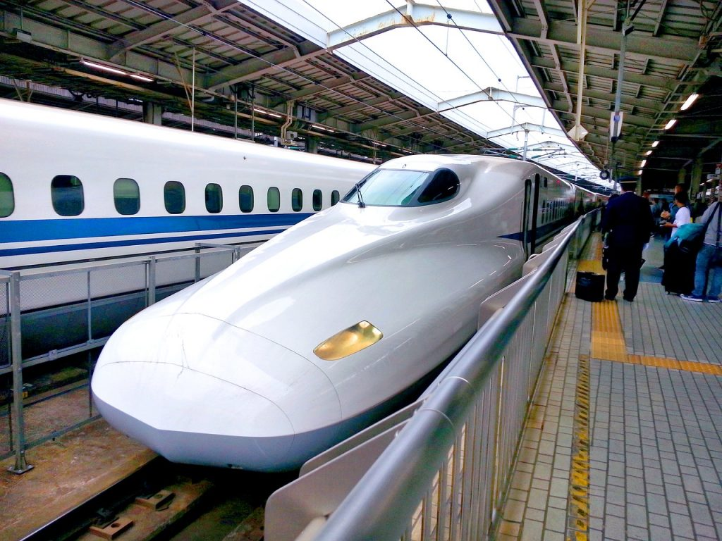 Japan tips for travel with kids: download a train app