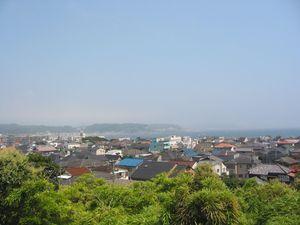 View of Kamakura from Hasedara Temple