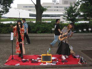 Busking - Japanese style