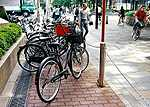 Many Japanese people use bicycles to get around Tokyo